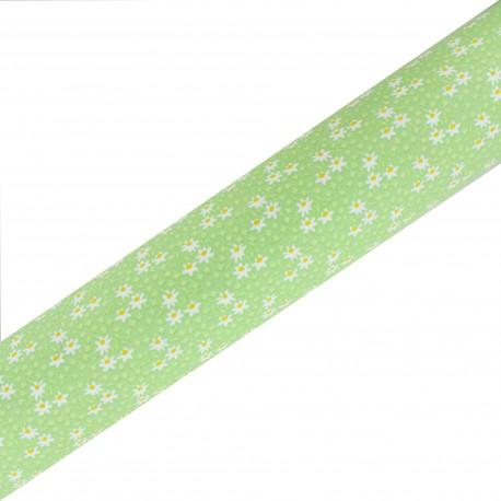Tissu adhésif haute qualité Midinette - Vert (45cm x 250 cm)