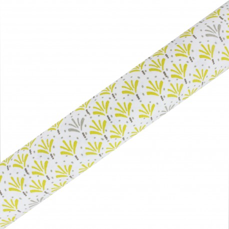 High Quality Adhesive fabric Palmito - Tilleuil (45cm x 250cm)