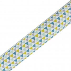 Tissu adhésif haute qualité Isocele - Celadon/Moutarde (45cm x 250 cm)