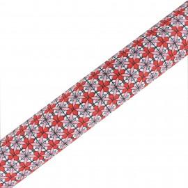 High Quality Adhesive Oeko- Tex fabric Maja - Corail (45cm x 250cm)