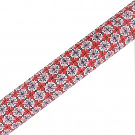 Tissu adhésif haute qualité Maja - Corail (45cm x 250 cm)