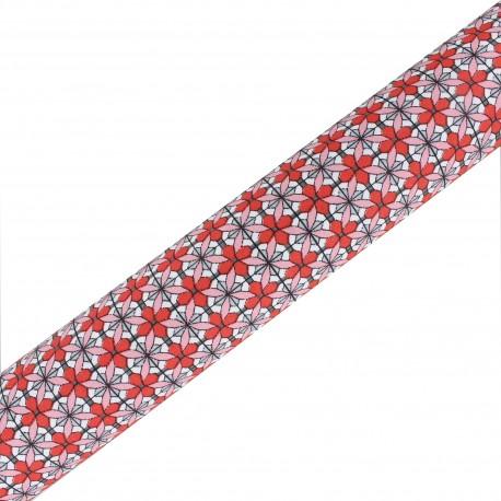 High Quality Adhesive fabric Maja - Corail (45cm x 250cm)