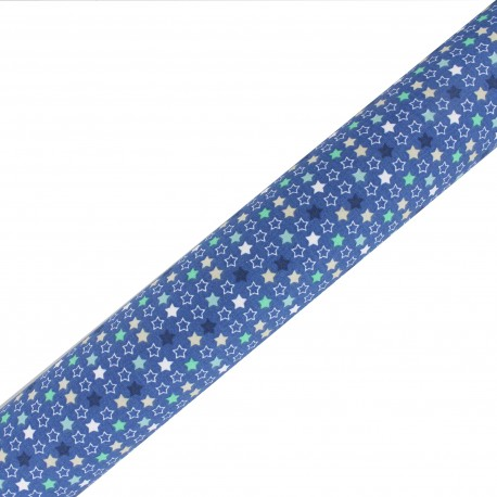 High Quality Adhesive fabric Constella - Blue (45cm x 250cm)