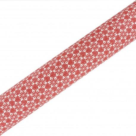 High Quality Adhesive fabric Alison - Red (45cm x 250cm)