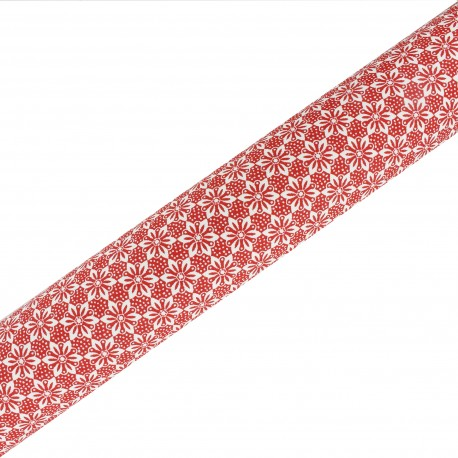 Tissu adhésif haute qualité Alison - Rouge (45cm x 250 cm)