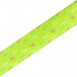 High Quality Adhesive fabric Bici - Multicolor (45cm x 250cm)