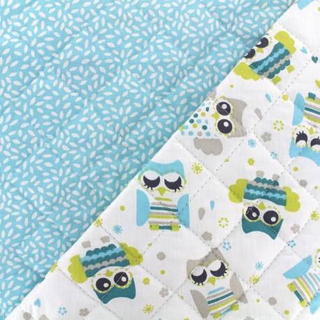 Quilted cotton fabric Gylfie/stili - sky x 10cm