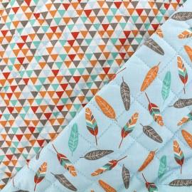 Quilted cotton fabric Isuzu/Miwi - sky x 10cm