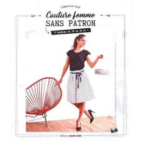"""Livre """"Couture femme sans patron"""""""