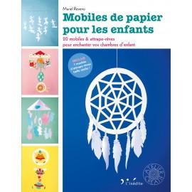 """Book """"Mobiles de papier pour les enfants"""""""