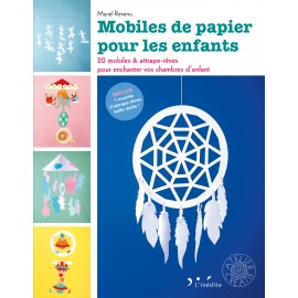 """Livre """"Mobiles de papier pour les enfants"""""""