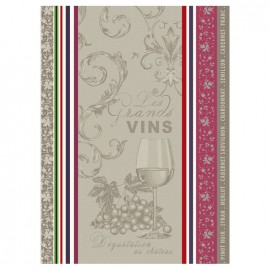 French Tea towel Multico - Vignobles x 1