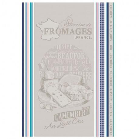 Torchon Jacquard Multico - Camembert x 1