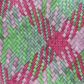 Imitation leather Caba - pink x 10cm