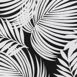 Imitation leather Brésil - black x 10cm