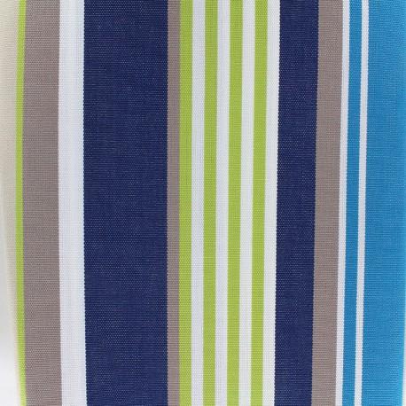 Tissu toile Plein Air Elba 320cm - bleu anis x 10cm