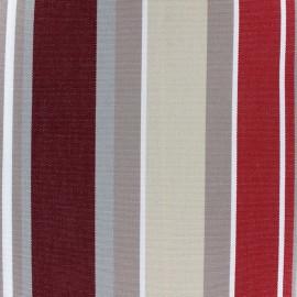 Tissu toile Plein Air Elba 320cm - bordeaux x 10cm