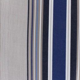 Tissu toile Plein Air Le Croisic 320cm - bleu x 10cm