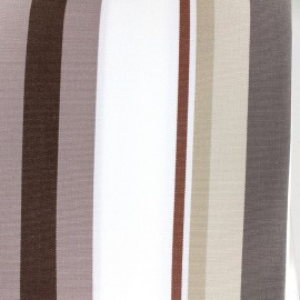 ♥ Coupon 20 cm X 320 cm ♥ Tissu toile Plein Air Dralon® Mentoue (320cm) - chocolat