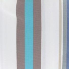 Tissu toile Plein Air Mentoue 320cm - bleu x 10cm