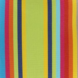 Tissu toile Plein Air Samba 320cm - anis x 10cm