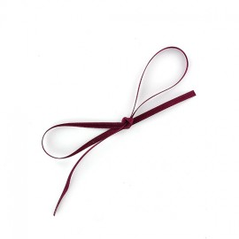 Ruban satin Comete 3mm - lie de vin x 1m