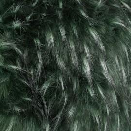 Fourrure haute qualité Ancône - vert x 10cm