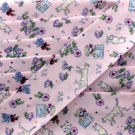 Jardinet Bias  - pink x 1m