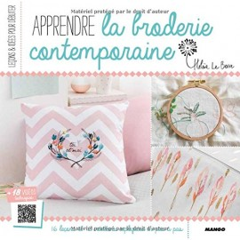 "Book ""Apprendre la broderie contemporaine"""