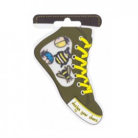 Iron-on patch for shoes - insects