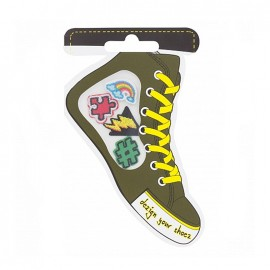 Iron-on patch for shoes - graphic