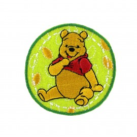Embroidered Iron on patch Winnie the Pooh - A
