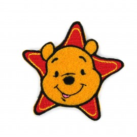 Embroidered Iron on patch Winnie the Pooh - E
