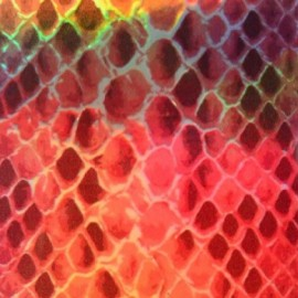 ♥ Fusible sheet - Snake Coppe x 1 ♥
