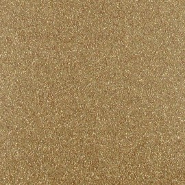 Gold glitter Fusible sheet x 1