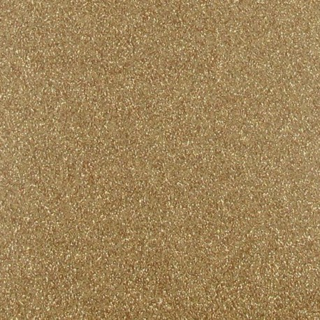 Gold glitter Fusible sheet x 1