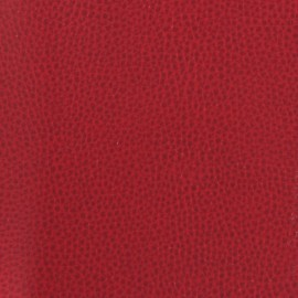 Feuille thermocollante imitation cuir rouge x 1