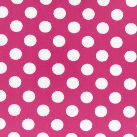 Pink and White Dots Fusible sheet x 1