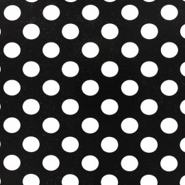 Black and White Dots Fusible sheet x 1
