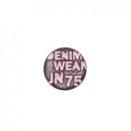 Denim color jeans button - taupe