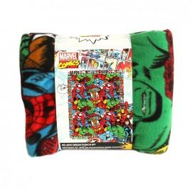 No-sew fleece blanket kit - Super-heros