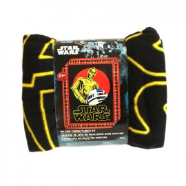 No-sew fleece blanket kit - Stars-War R2D2