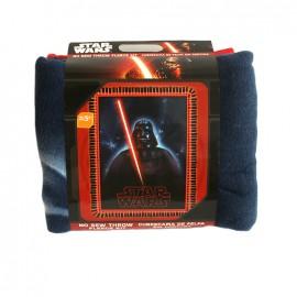 No-sew fleece blanket kit - Stars-War Dark Vador