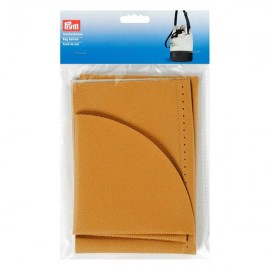 Faux leather bag bottom Prym Charlotte - mustard