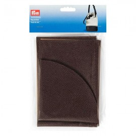 Faux leather bag bottom Prym Charlotte - dark brown