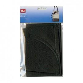 Faux leather bag bottom Prym Charlotte - black
