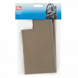 Faux leather bag bottom Prym Caroline - taupe