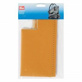 Faux leather bag bottom Prym Caroline - mustard