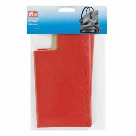 Fond de sac en simili cuir Prym Caroline - rouge