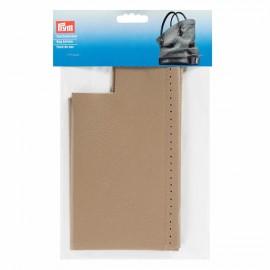 Faux leather bag bottom Prym Caroline - beige